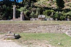 Temple Olympia Greece Stock Image