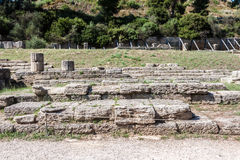 Temple Olympia Greece Stock Photography