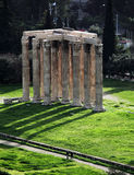 Temple of Olympian Zeus. In Athens, Greece Royalty Free Stock Image