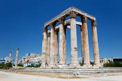 Temple of Olympian Zeus. Athens, Greece Stock Photo