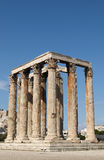 Temple of Olympian Zeus. The Temple of Olympian Zeus (Greek: Naos tou Olimpiou Dios), also known as the Olympieion, is a temple in Athens Royalty Free Stock Images