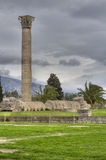 Temple of Olympian Zeus in Athens Royalty Free Stock Photos