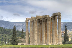 Temple of Olympian Zeus in Athens Stock Photography