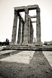 The Temple of Olympian Zeus, Athens. Greece Royalty Free Stock Photography
