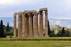 Temple of olympian zeus, athens. Greek columns, Temple of Olympian Zeus, Athens Stock Photography