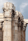Temple of Olympian Zeus Athens Stock Photography