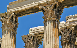 Temple of Olympian Zeus, Athens Royalty Free Stock Photography