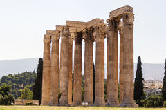 Temple of Olympian Zeus, Athens Royalty Free Stock Photo