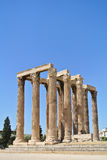 The Temple of Olympian Zeus Stock Photography