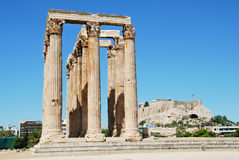 The Temple of Olympian Zeus Royalty Free Stock Image