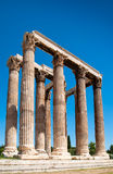 The Temple of Olympian Zeus in Athens Royalty Free Stock Photography