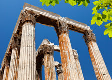 Temple of Olympian Zeus, Athens, Greece. Temple of Olympian Zeus in Athens, Greece Royalty Free Stock Images