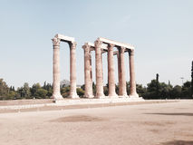 Temple of Olympian Zeus, Athens, Greece Stock Image