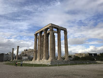 The Temple of Olympian Zeus Stock Image