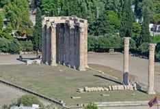 Temple of Olympian Zeus, Athens, Greece Stock Image