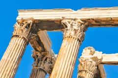 Temple of Olympian Zeus in Athens, Greece Stock Photos
