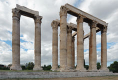 Temple of Olympian Zeus, Athens, Greece Royalty Free Stock Photography