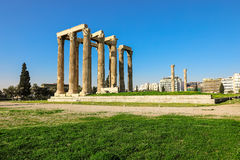 Temple of Olympian Zeus, Athens, Greece. Temple of Olympian Zeus Athens Greece, spring 2017 Stock Photography