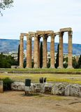 Temple of Olympian Zeus. Columns of the Olympian Zeus temple in Athens Stock Photos