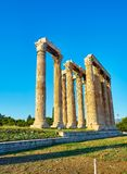Temple of Olympian Zeus. Athens, Attica, Greece. Stock Images