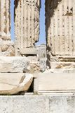 Temple of Olympian Zeus. The Temple of Olympian Zeus or the Olympieion royalty free stock photo