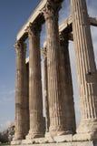 Temple of Olympian Zeus Stock Image