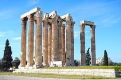 Temple of Olympian Zeus Royalty Free Stock Photo