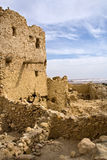 Temple of the Oracle. Near Aghurmi at Siwa oasis Stock Photos