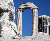 Temple and Oracle of Apollo Stock Image