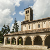 Temple of Ornella ,Veneto Italy. Church of the 13th century built by the order of the Templars Royalty Free Stock Images