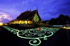 Temple ou Wat Luang Sang de Phu Phrao Images libres de droits
