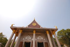 Temple and outdoor design in thailand Royalty Free Stock Images