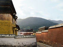 Temple. In Outer tibet china asia Royalty Free Stock Photography