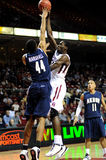 Temple Owls baskebtall - Michael Eric Royalty Free Stock Photos