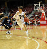 Temple Owls basketball - Juan Fernandez Royalty Free Stock Image
