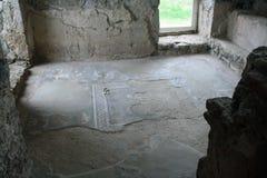 Temple païen de Garni, le temple hellénistique en république d'Arménie photos libres de droits