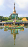 Temple. Paa kung at roi-et thailand Royalty Free Stock Images
