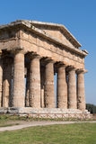 Temple of Paestum Archaeological site, Italy Royalty Free Stock Photo