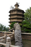 Temple pagoda Royalty Free Stock Photos
