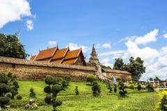 Wat phra that lampang luang in lampang thailand temple Royalty Free Stock Photos