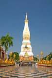Temple. Pagoda temple in  thailand blue sky Stock Photos