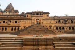 Temple palace of Maheshwar Stock Images