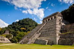 Temple of Palenque Stock Photo