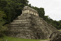 Temple at Palenque Stock Images