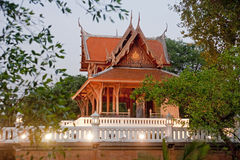 Temple in the park near Fort Phra Sumeru in old Bangkok Royalty Free Stock Image