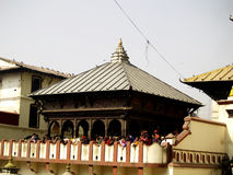 Temple in Pashupatiinath Area Royalty Free Stock Image