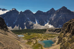 Temple pass trail in Banff National Park, Alberta, Canada Stock Photography