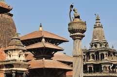 Temple in Patan 2 Stock Photos