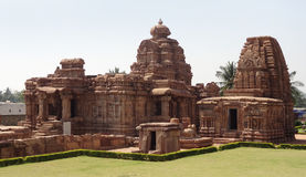 Temple at Pattadakal Royalty Free Stock Images