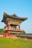 Temple pavilion architecture Royalty Free Stock Image